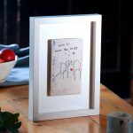 Home is where the heart is - Framed tile