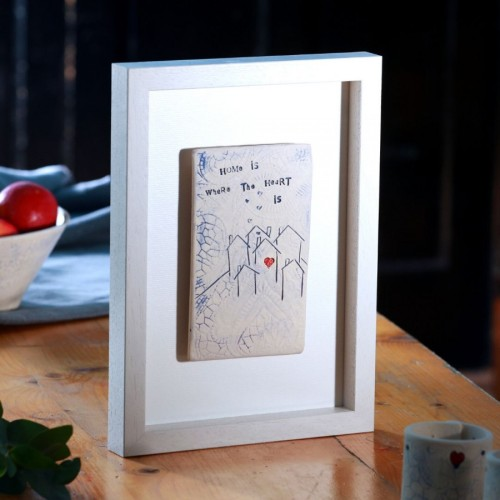 Home Comforts Framed Tiles