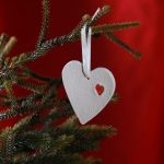 Home Comforts Heart Handmade Hanging Ornament